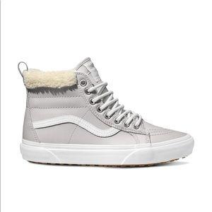 Vans Sk8-Hi MTE Metallic/Silver Women Sneakers